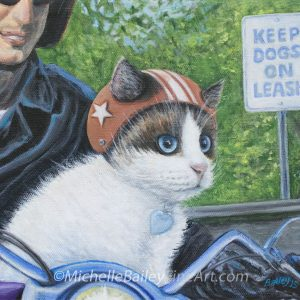 Channeling Motor Cat By Michelle Bailey