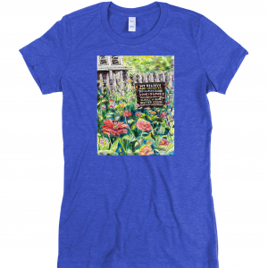 We Believe - Signs of Justice Ladies T-Shirt Michelle Bailey Fine Art