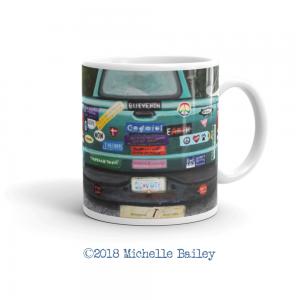 Michelle Bailey Fine Art MUG FRONT prodmock BLIEVE HON Truck