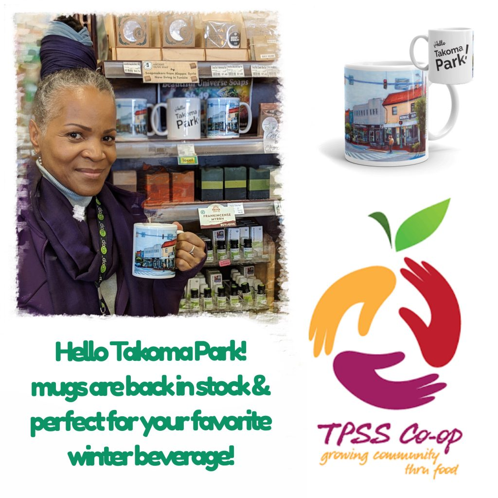 Michelle Bailey Fine Art Mugs available at the TPSS Co-op