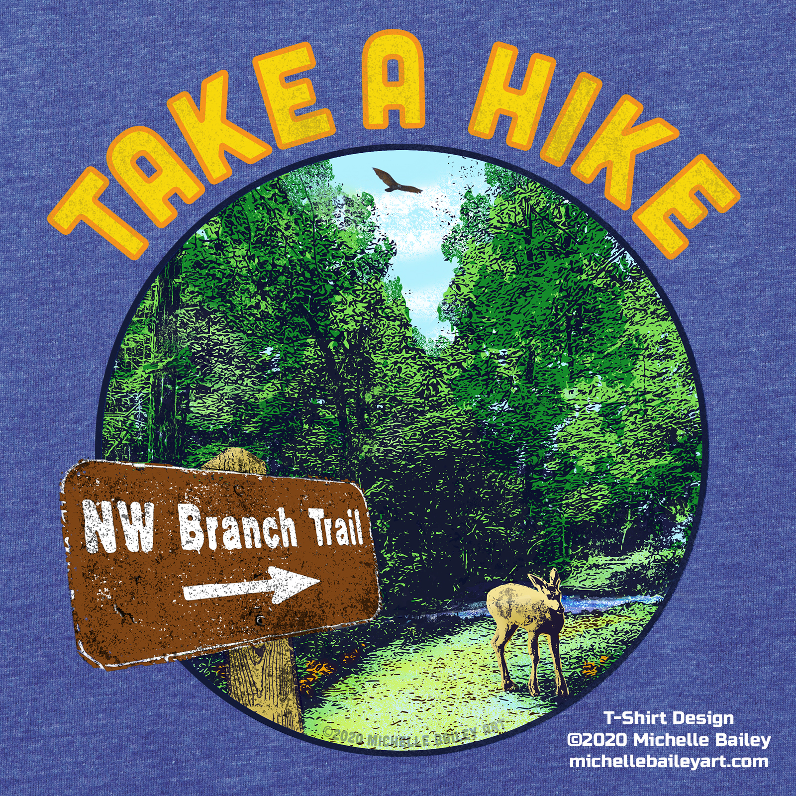 Take A Hike T-Shirt Product Detail