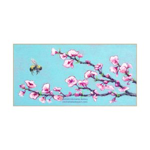 Michelle Bailey Bee Sweet Matted Print