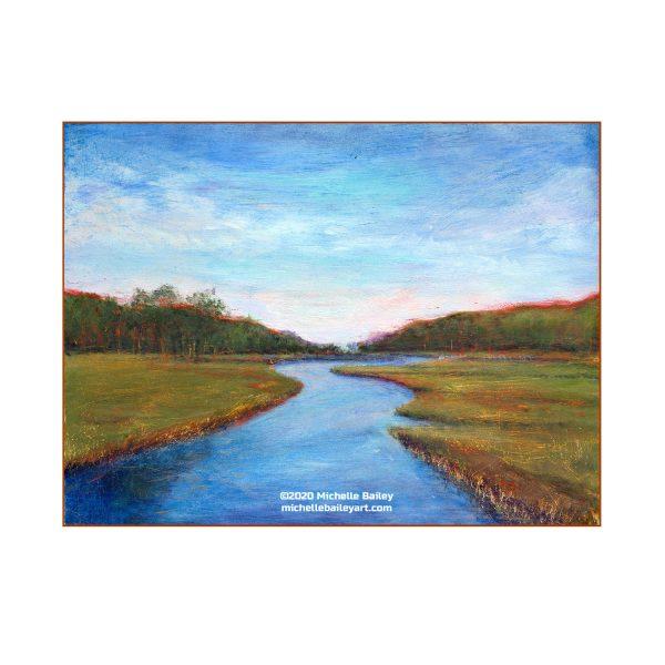 Michelle Bailey Art Salt Marsh Lewes, DE